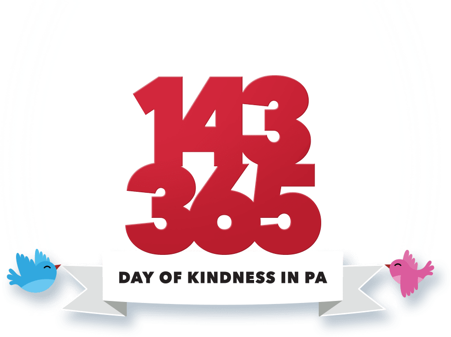 1-4-3 3-6-5 Day of Kindness in PA